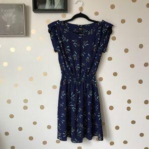 ASOS Butterfly Print Mini Dress